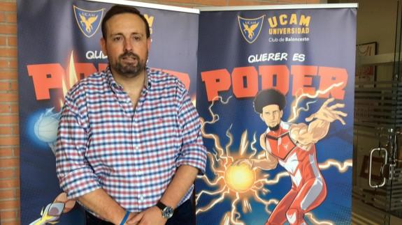 Alejandro Gómez repasó la actualidad del UCAM Murcia