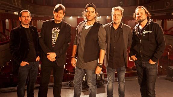 Componentes del grupo 'Los Secretos'