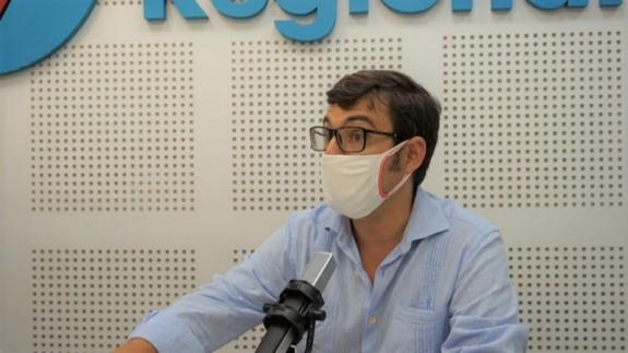 Germán Teruel en los estudios de ORM