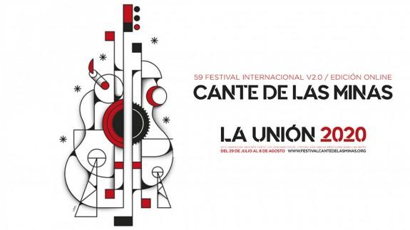 Cartel de la 59ª edición del Festival del Cante de las Minas de la Unión