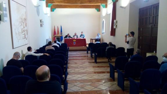 Un momento de la celebración ayer del Consejo de Patrimonio en Mula