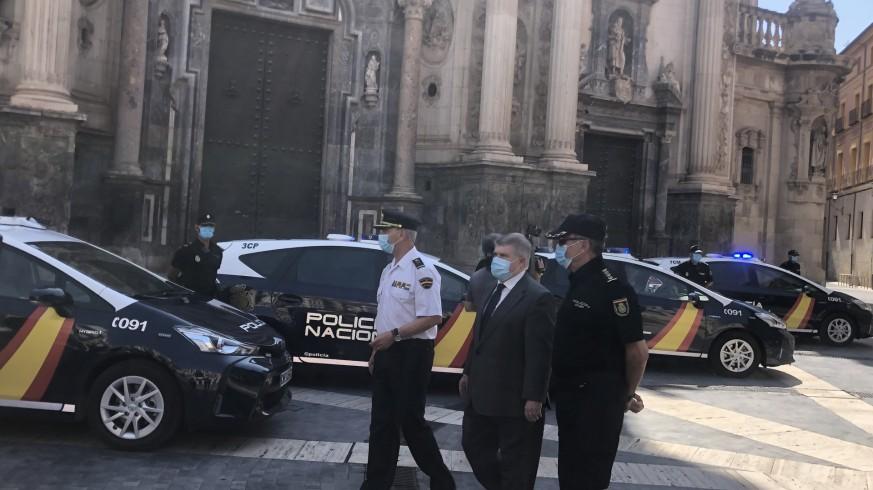 Cinco nuevos vehículos inteligentes i-ZETA mejorarán el servicio de Policía Nacional en la Región