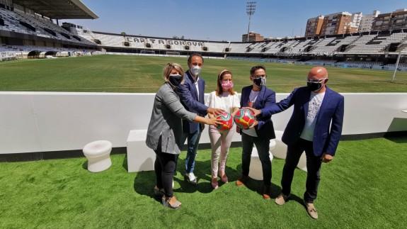 Primera toma de contacto de LaLiga con el FC Cartagena