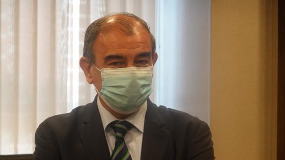 Juan Antonio Pedreño en la comisión de Reactivación