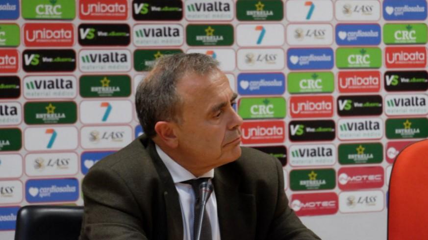El consejero delegado del Real Murcia, Francisco Miró