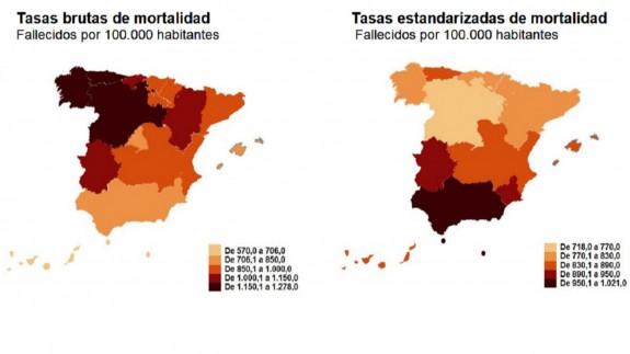 VIVA LA RADIO. En camisa de once varas. Principales causas naturales de mortalidad en la Región de Murcia