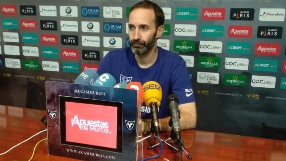 """Sito Alonso: """"Fichar a Lecomte demuestra la ambición del UCAM Murcia"""""""