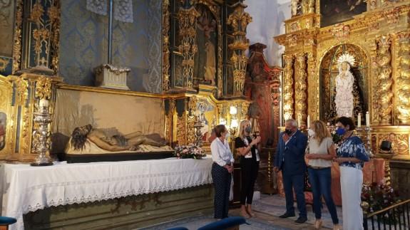 TARDE ABIERTA. Veinte piezas más de la iglesia de San Francisco de Lorca serán declaradas BIC