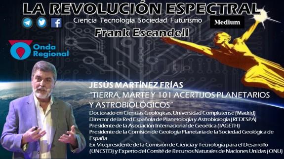 LA REVOLUCIÓN ESPECTRAL T02C014 Tierra, Marte y 101 acertijos planetarios y astrobiológicos