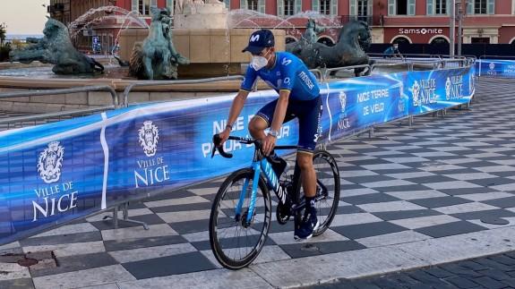 Valverde y Luis León, con los favoritos en la 2ª etapa del Tour; Alaphilippe, nuevo líder