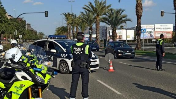 Control de movilidad en Murcia