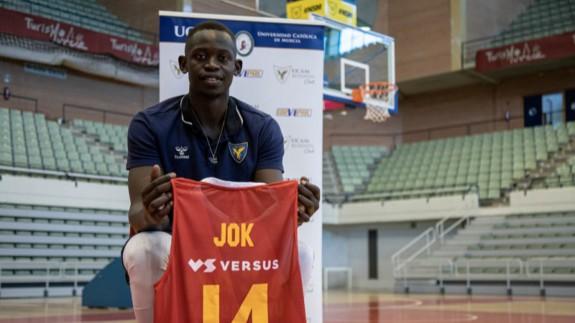 """Peter Jok: """"Estoy adaptándome al UCAM Murcia CB y a la Liga de España"""""""