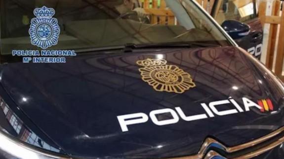 Vehiculo de la Policía