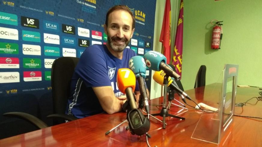 """Sito Alonso: """"Habrá que hacer todo muy bien para ganar al Morabanc Andorra en su pista"""""""