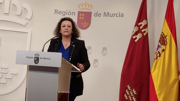 Yolanda Muñoz comparece ante la prensa