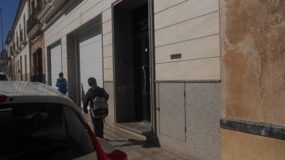 Domicilio donde fue trasladado el hombre secuestrado