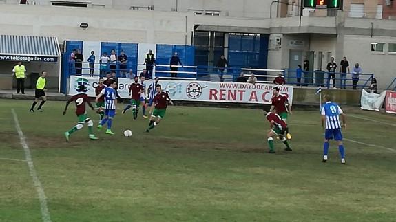 El Águilas gana 2-1 a Los Garres