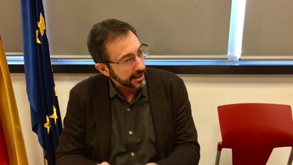Asensio López, gerente del Servicio Murciano de Salud. ASR