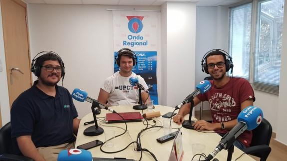 Joaquín Cruces, Mariano Fernández y José Antonio Toral