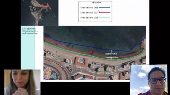 La playa de la Ensenada del Esparto sufre una regresión de 45 metros desde la construcción de Puerto Mayor