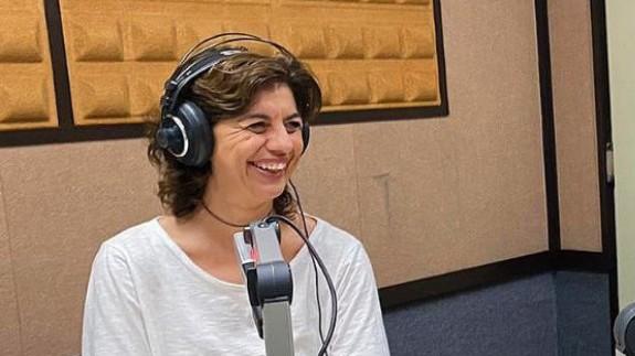 """María López Mayol con Lucía Hernández en """"La Contraportada"""""""