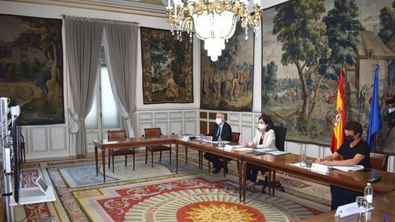 Imagen de archivo de la Comisión de Seguimiento del Pacto Antitransfuguismo