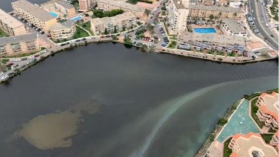 Una nueva bolsa de anoxia amenaza al Mar Menor
