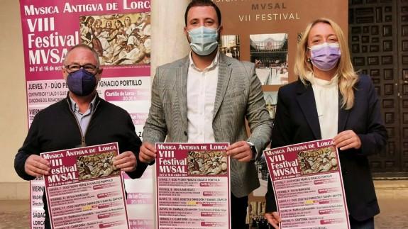 TARDE ABIERTA. Comienza la octava edición del Festival de Música Antigua de Lorca