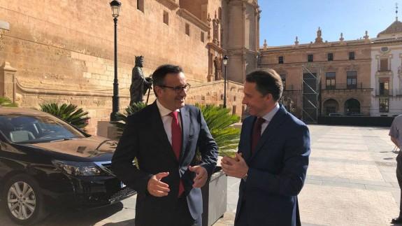 Conesa y Gil en Lorca