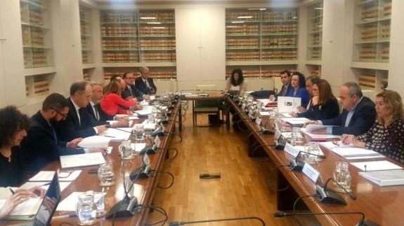 Reunión del consejo de administración de Cartagena Alta Velocidad