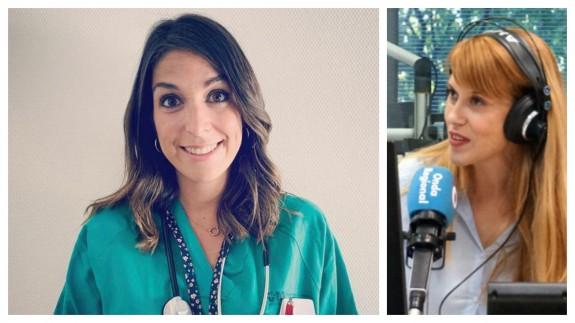 """Iría Miguens, doctora en urgencias en la entrevista de """"La Contraportada"""""""