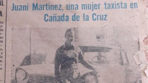 Recorte de prensa del año 76. CEDIDA