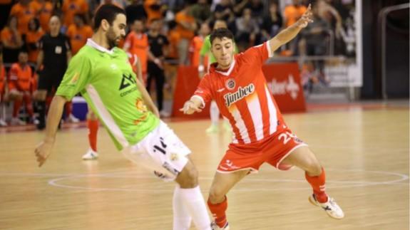 El Jimbee Cartagena cae 0-5 ante Palma Futsal