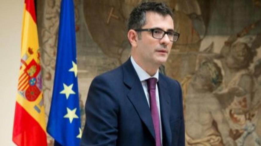 Félix Bolaños, ministro de la Presidencia. Foto: Europa Press
