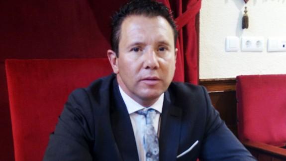Juan Jesús Moreno, Alcalde de Mula