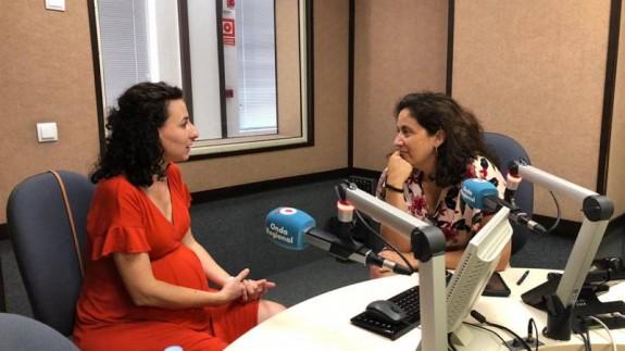 Rocío Arregui y Marta Ferrero en Onda Regional