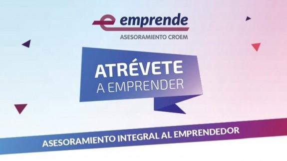 Imagen promocional de la iniciativa E-EMPRENDE. CARM