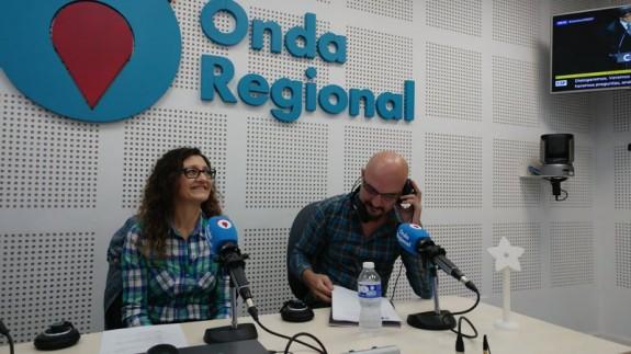 Esperanza Clares y Jose Carlos Ruiz