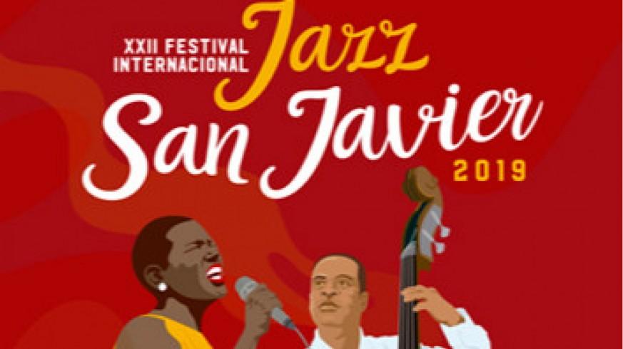Fragmento del cartel del Festival de Jazz de San Javier