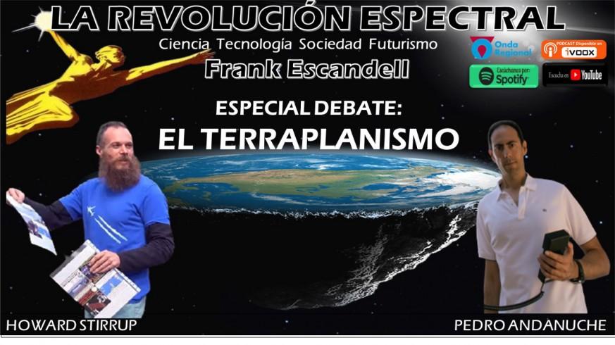 Howard Stirrup y Pedro Andanuche en La Revolución Espectral