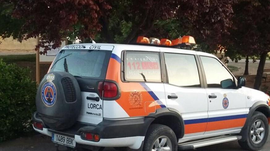 Vehículo de protección civil de Lorca