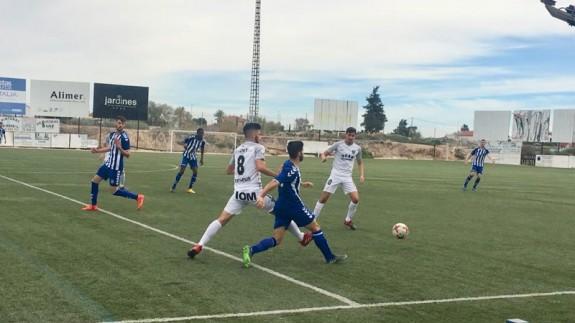 Tercera División. Lorca FC B, 0 - UCAM FC B, 1