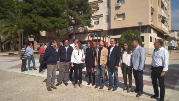 Los candidatos de Ciudadanos en Molina