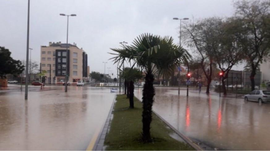 Lluvias en Murcia