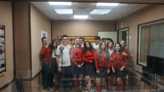 ONDA ABIERTA | Visita del Colegio Mirasierra de Torreagüera