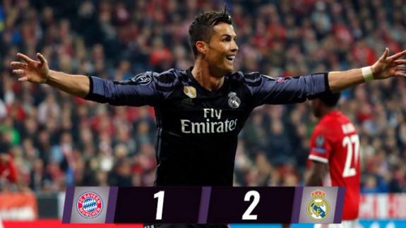 Segunda parte Bayern Múnich vs Real Madrid y Atlético de Madrid vs Leicester Liga de Campeones