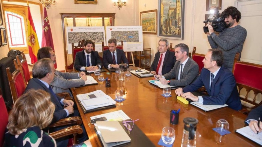 Reunión del Consejo de Gobierno celebrada en Yecla