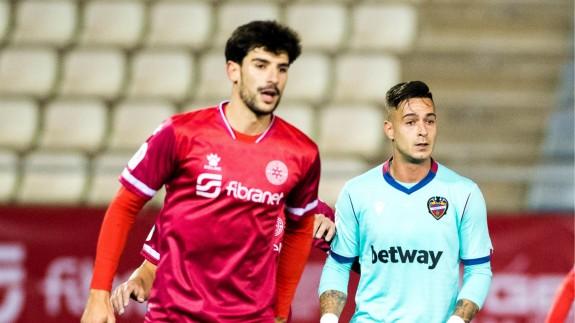 El Levante noquea al Racing Murcia en la Copa (0-5)