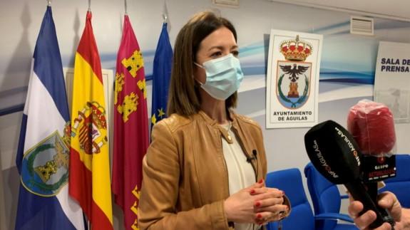 María del Carmen Moreno, alcaldesa de Águilas. AYTO. ÁGUILAS