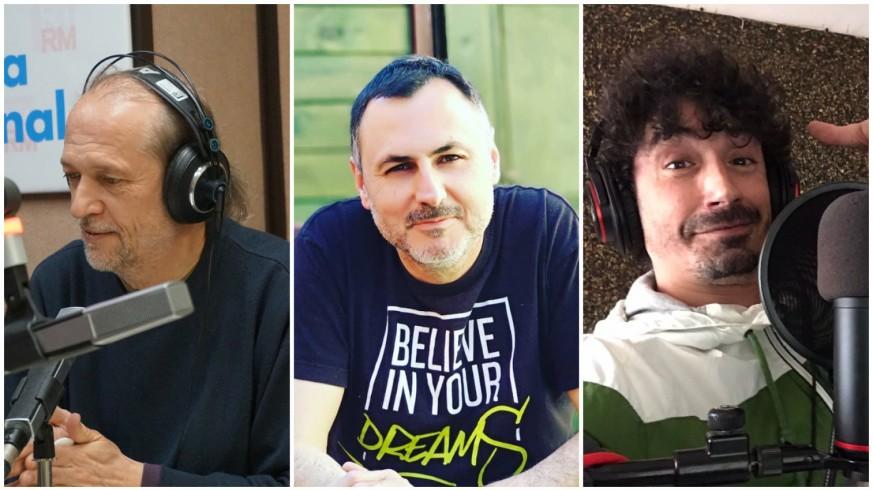 Román García, Juan Antonio Sánchez JASS y Fran Ropero